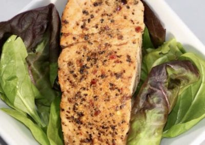 Six Peppered Salmon