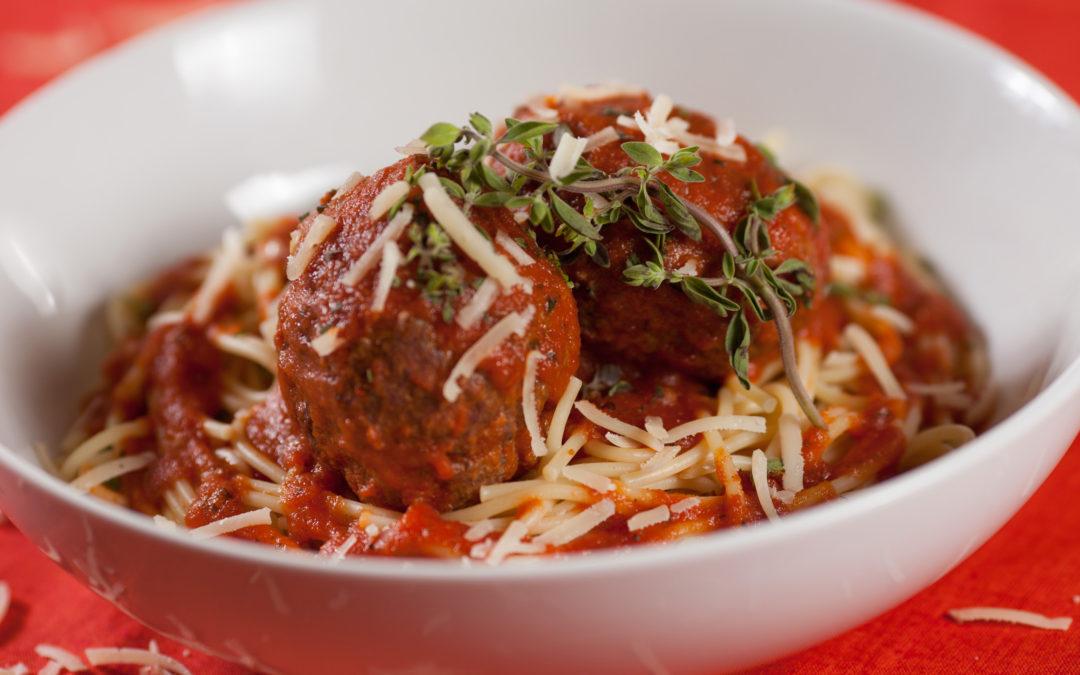 Turkey Meatballs and Veggie Spaghetti
