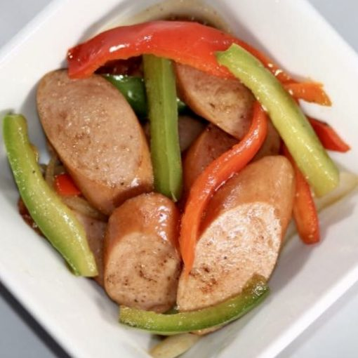 Turkey Sausage With Sweet Peppers